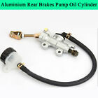 Aluminum Rear Brake Pump Oil Cylinder Adjustable Motorcycle Modified Accessories