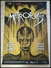 METROPOLIS Original Movie Poster 27X40 Italian FRITZ LANG ABEL FROHLICH
