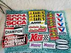 *LOT OF  Vintage  Racing Patches Stickers-Diehard, Valvoline, Sunoco, +MORE