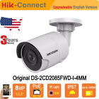 Hikvision Upgradable  DS-2CD2085FWD-I IP Camera 4K 8MP HD IR POE P2P H.265+ CCTV