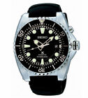 New Seiko SKA371P2 Kinetic Prospex Black Dial Diver 45mm with Black Band