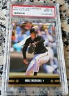 MIKE MUSSINA 1991 LEAF GOLD Rookie Card RC PSA 9 MINT Orioles Yankees HOF 2019