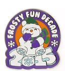 Hallmark 2015 Frosty Fun Decade  Pin Broche ~ Collectible New In Package!