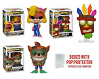 Funko Pop Crash Bandicoot Vinyl Figures 21