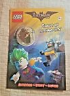 LEGO Batman Movie Chaos In Gotham City ACTIVITY BOOK With Tartan Minifigure