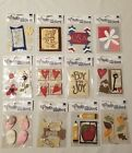 NEW Rebecca Sower Fresh Stickers Scrapbooking Lot of 12 Holidays Flowers Winter