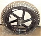 95 94 93 CBR900RR CBR 900 RR FRONT WHEEL BLACK WITH TIRE HONDA HAS 1 BEND AT LIP