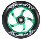 Fasen Raven Wheels Black Green for Kick Scooter 2 wheels