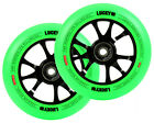 LUCKY SCOOTERS TOASTER WHEEL BLACK NEON GREEN 110mm