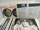 LOT 2 APOLLO Color Photo Packages NASA Crew Astronaut On Moon Lunar Module Jewel