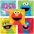 20 Sesame Street Chalk STICKERS Party Favors Supplies Birthday Treat Loot Bags