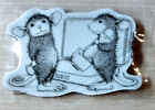Destash Stamp House Mouse Ink It Red Rubber Cling Maxwell Muzzy Cute