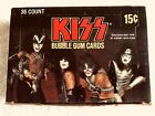 KISS Donruss 1978 Series 1 Trading Cards, 36 Pack Box + 6 Free Backstage Passes!