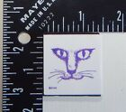 All Night Media Cat Rubber Stamp