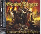 GRAVE DIGGER =LIBERTY OR DEATH= TKCS-85165  WITH OBI  FREE SHIPPING