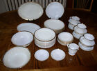Assorted Anchor Hocking / Fire King GOLDEN ANNIVERSARY Pattern Dinnerware Pieces