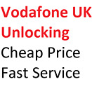 Unlock Code Service Samsung S6 EDGE S7 EDGE S8 PLUS Vodafone UK network only