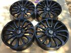 22 Range Rover Autobiography Wheels HSE Sport Land Rover Gloss Black Rims