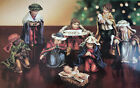 Dillards Vintage 8 Piece Childrens Nativity With Highly Detailed Figurines