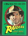 1981 Topps Raiders of the Lost Ark Trading Cards 10