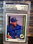 Gary Sheffield Cards, Rookie Cards and Autographed Memorabilia Guide 9