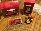 Hallmark Kepsake Ornaments Tonka Pumper 5 & flame fighting friends, 1999