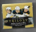 2018-19 UPPER DECK TRILOGY HOCKEY SEALED HOBBY BOX = 8 PACKS PER BOX