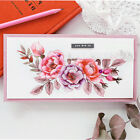 New Peony Flowers Transparent Card Making Silicone DIY Photo Album Clear Stamps