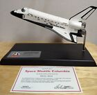 Danbury MintNASA Space Shuttle Columbia STS1 Commemorative Display with Stand