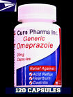 OTC OMEPRAZOLE 20 mg 120 Capsules (ULTRA Brand) Acid Reducer Exp FEB/2021 SEALED