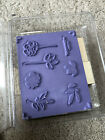 Stampin Up Botanical Blooms 7 Piece Rubber Stamp Set Retired New