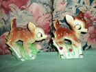 Figural Salt and Pepper Shakers Deer Bambi Japan