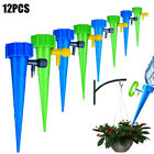 12pcs Plant Self Watering Spikes Stakes Automatic Valve Waterer Device For Garde