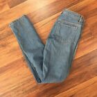 APC Size 29 Petit Standard Light Wash Button Fly Jeans Straight