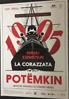 BATTLESHIP POTEMKIN Original Movie Poster 39x55 2Sh Italian SERGEI EISENSTEIN
