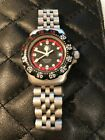 TAG HEUER Professional 200 Meters Stainless Steel Lady's Dive Watch Black Face