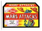 2018 Topps Wacky Packages Mars Attacks Trading Cards 7