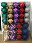 Home Accents Holiday Shatter Resistant Assorted Ornaments 100 Count