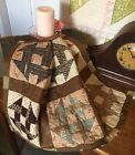 's Early Prints Churn Dash Patchwork Quilt Piece #7