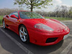 Ferrari 360 Modena F1 RHD Rosso Corsa Crema Leather Red Cream FSH