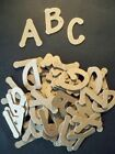 Raw Lollipop Font Chipboard Letters Plus Extra