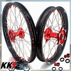 RED NIPPLE CASTING WHEEL RIM 21/19 FIT HONDA CRF250R 2014-2019 CRF450R 2013-2019