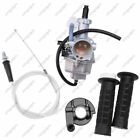 Carburetor Fits Honda XR100 XR100R CRF100F With Handlebar Grips