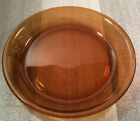 Fire King Anchor Hocking Glass Pie Plate Amber 9 Inch #460 Vintage