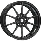 Alloy Wheels Sparco allAssetto Gara Black Smart Fortwo Forfour 453 17 Inch
