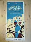 BICYCLE THIEVES Original Movie Poster 12x27 Italian VITTORIO DE SICA OSCAR