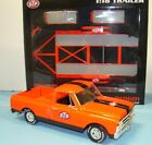 1 18 1968 Chevy truck STP with trailer  new in the box