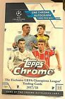 2017-18 Topps Chrome UEFA Champions League Sealed Soccer HOBBY Box Volume Disc.