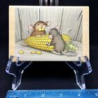 House Mouse How Corny Wood Stamp Stampabilities Corn Fall Maxwell Muzzy