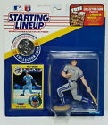 KELLY GRUBER - Starting Lineup MLB SLU 1991 Action Figure, Coin